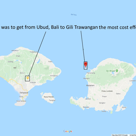 Getting to Gili Trawangan