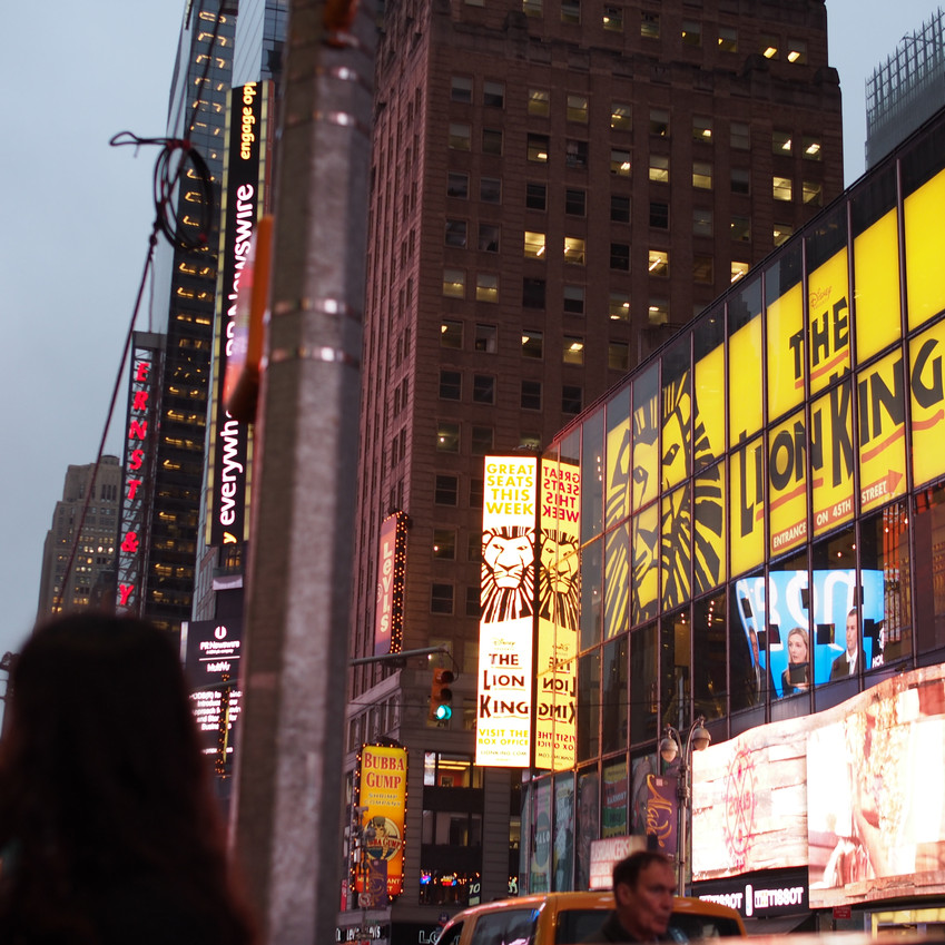 Closer to times square