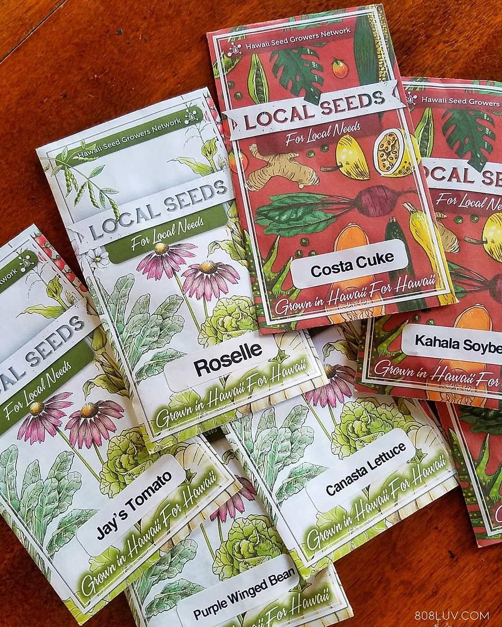 Perfect seeds for Hawaiian soil
