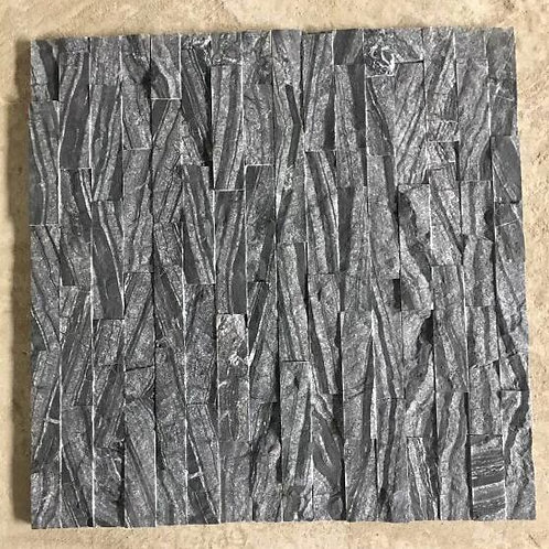 Black Wooden marble(polished+natural surface)