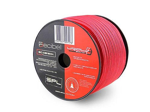 Профессиональный акустический кабель URAL (Урал) SC-DB16GA RED (сечение 2х1,31 м