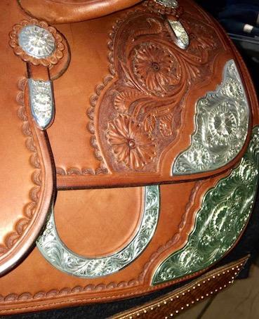 A_Saddle silver