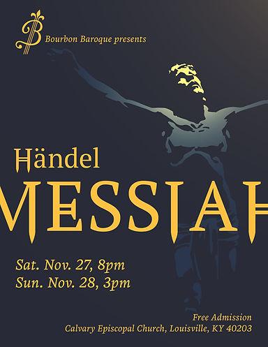 Händel's Messiah w/ Bourbon Baroque