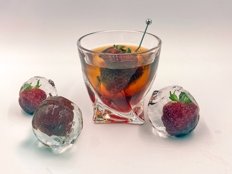 Strawberry Negroni (or, When Life Gives You Strawberries)