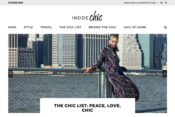 monthly chic updates across categories