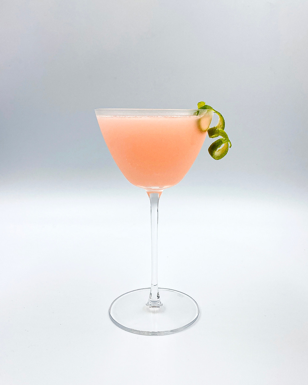 Gin Professors Rhubarb Gimlet