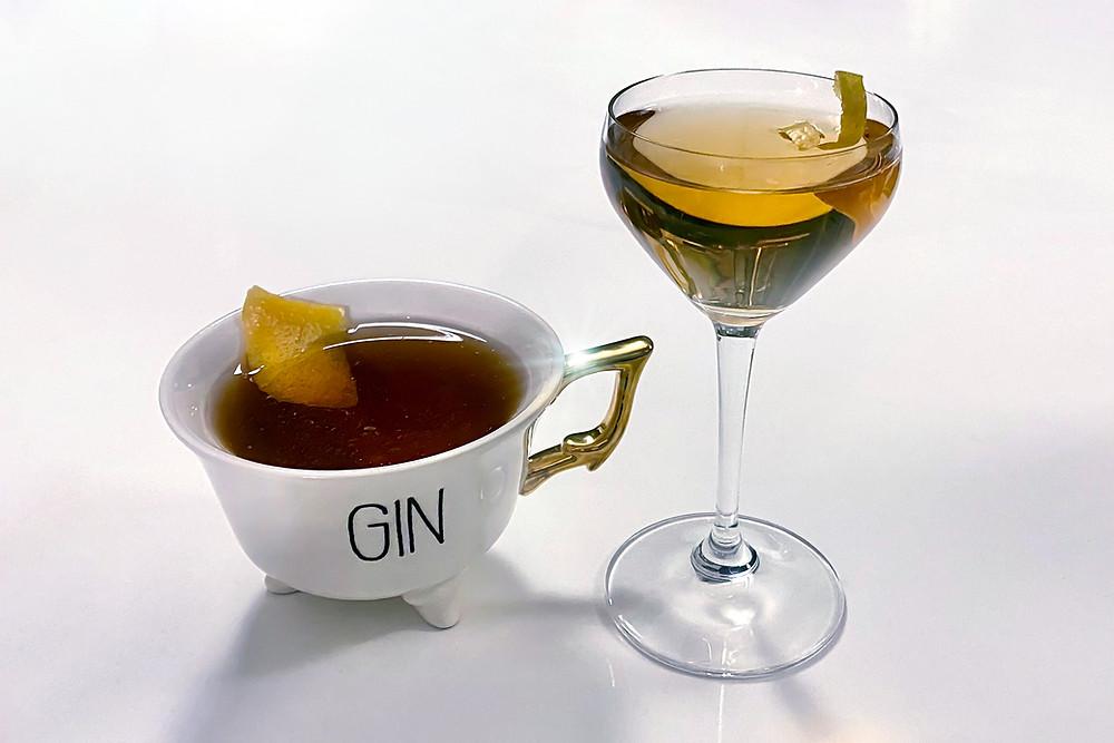 Gin Professors the Jabberwock