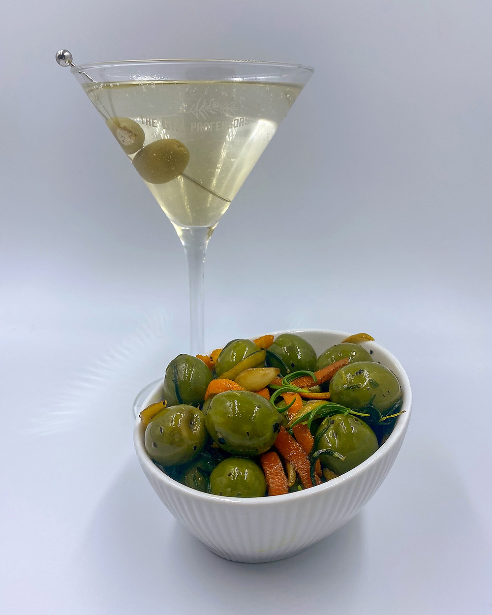Gin Infused Olives - The Gin Professors