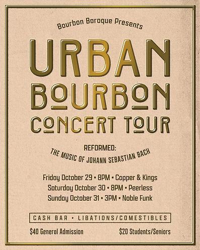 Urban Bourbon Concert Tour