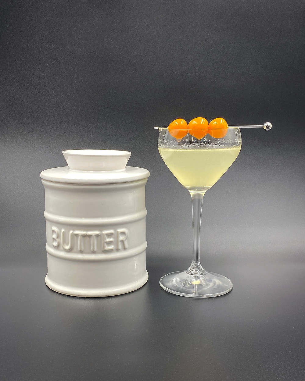 Gin Professors Butter Martini