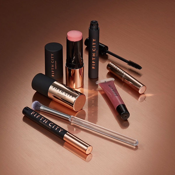 Designed and launched an exclusive beauty collection, Fifth City