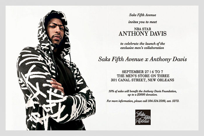 saks x nba partnership email