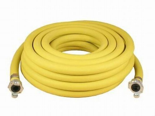 "Compressed air hose 3/4"" diameter 15m with claw fittings"