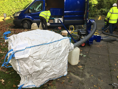 5 x Jumbo waste bags dust free