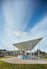 Architectural photography, pavilion at Kangaroo Bay, Hobart