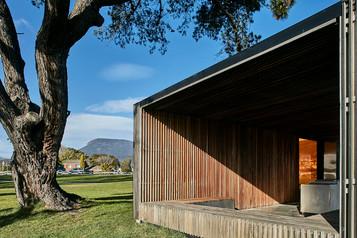 Architectural photography, pavilion at Montrose foreshore park, Hobart