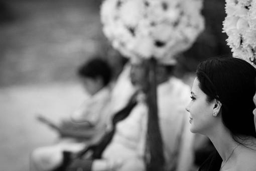 Wedding photography Tasmania, detail of an outdoor wedding