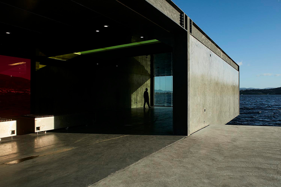 Architectural photography, Glenorchy Art and Sculpture Park, Hobart