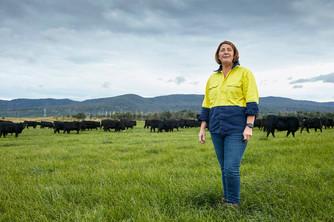 Farmer in North West Tasmania