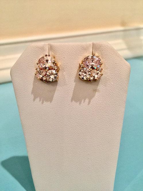 """""""Feu et Glace"""" Stud Earrings"""