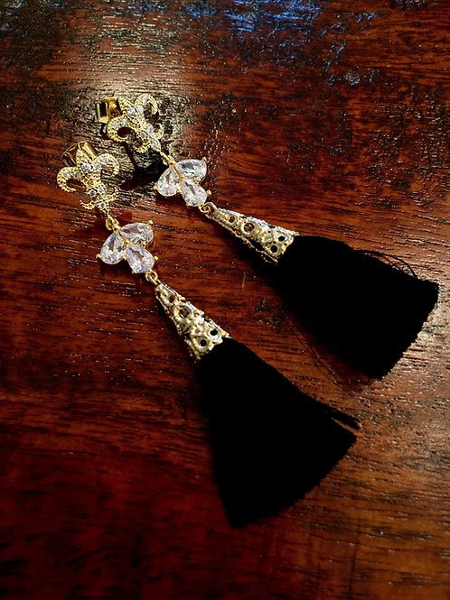 "French Quarter II ""Noir"" Earrings"