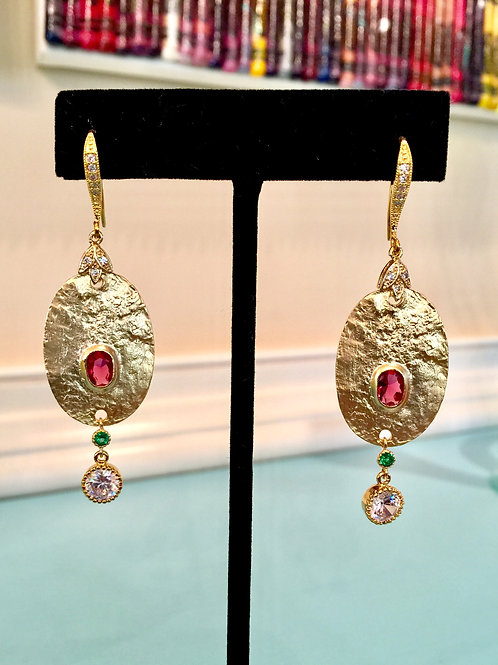 Etruscan Antiquity Earrings I