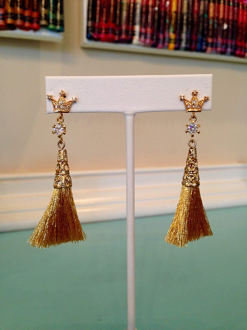 """La Couronne"" Earrings"