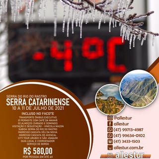 10/07 a 11/07/2021 - SERRA CATARINENSE