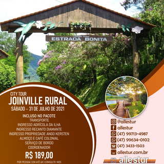 31/07/2021 - TURISMO RURAL JOINVILLE