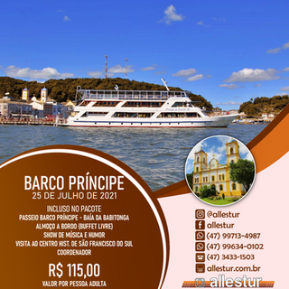 25/07/2021 - BARCO PRINCÍPE