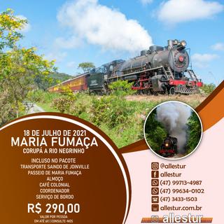 18/07/2021 - TREM MARIA FUMAÇA