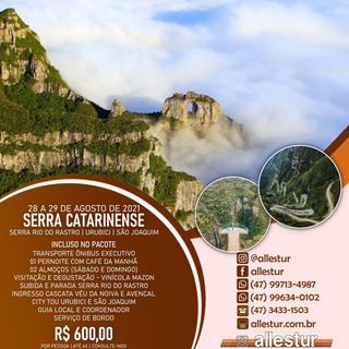 28 A 29/08/2021 - SERRA CATARINENSE - SÃO JOAQUIM E URUBICI