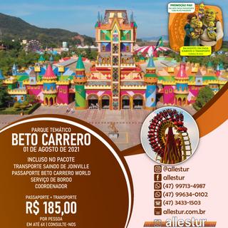 01/08/2021 - PARQUE BETO CARRERO WORLD