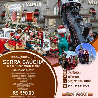 17 A 19/12/2021 - SERRA GAÚCHAS | DECORAÇÃO NATAL LUZ