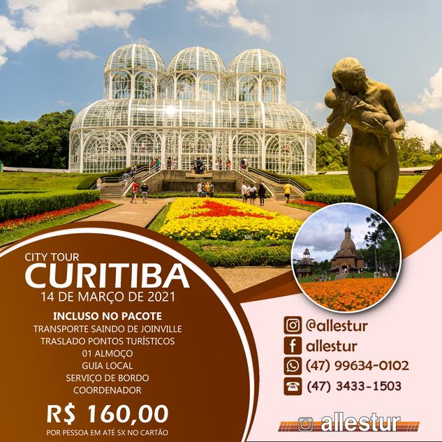 14/03/2021 - CITY TOUR CURITIBA
