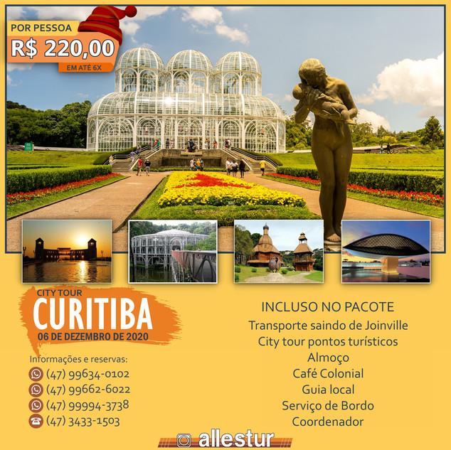 City Tour Curitiba (Decoração Natalina)