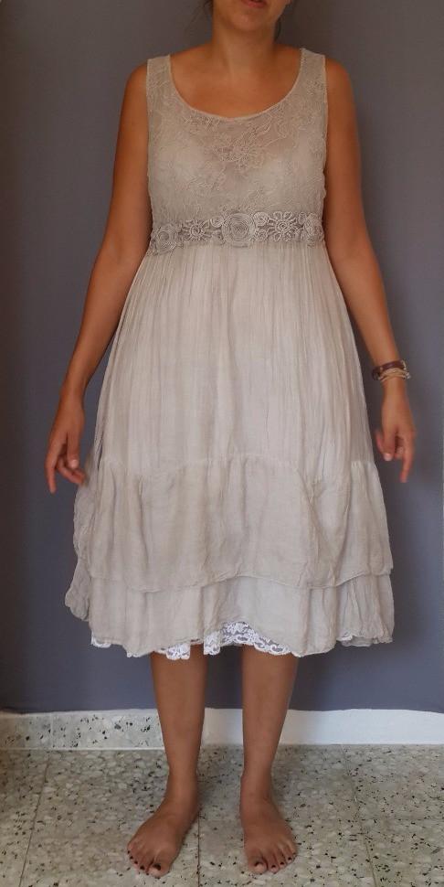 פשוטה סיפורה של שמלת כותנה אפורה שרצתה להיות משהו אחר