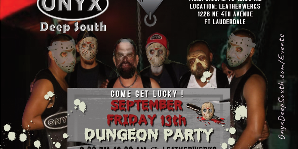 ONYX Dungeon Party Fundraiser