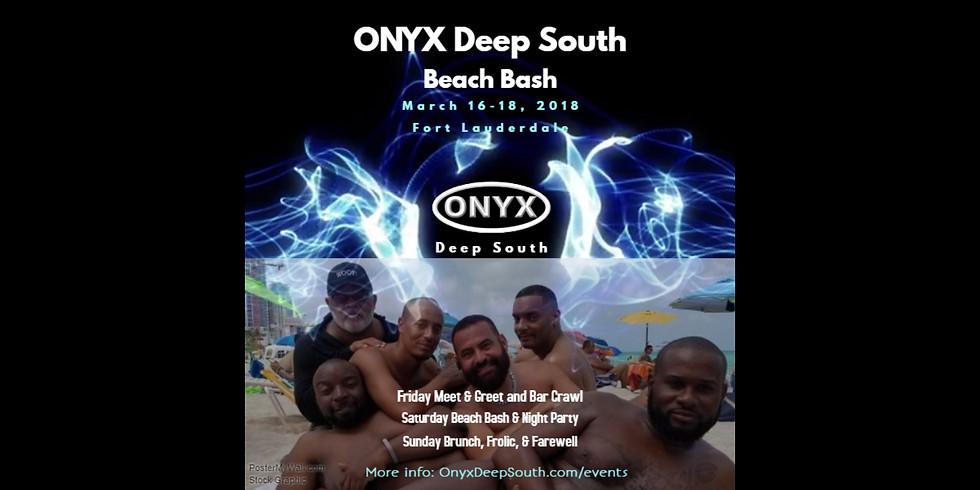 2018 ONYX Deep South BEACH BASH