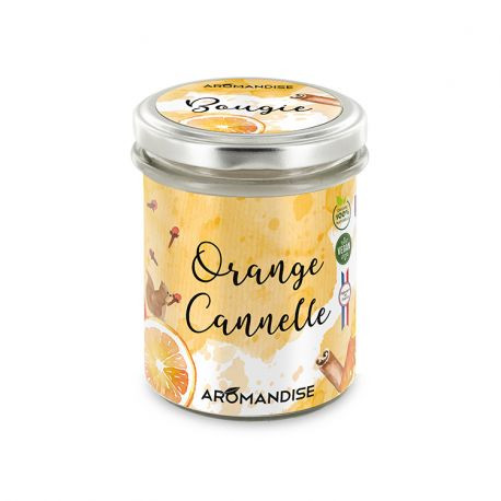 "Bougie ""Orange cannelle"""