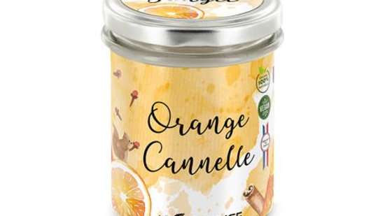 "Bougie ""Orange cannelle"""