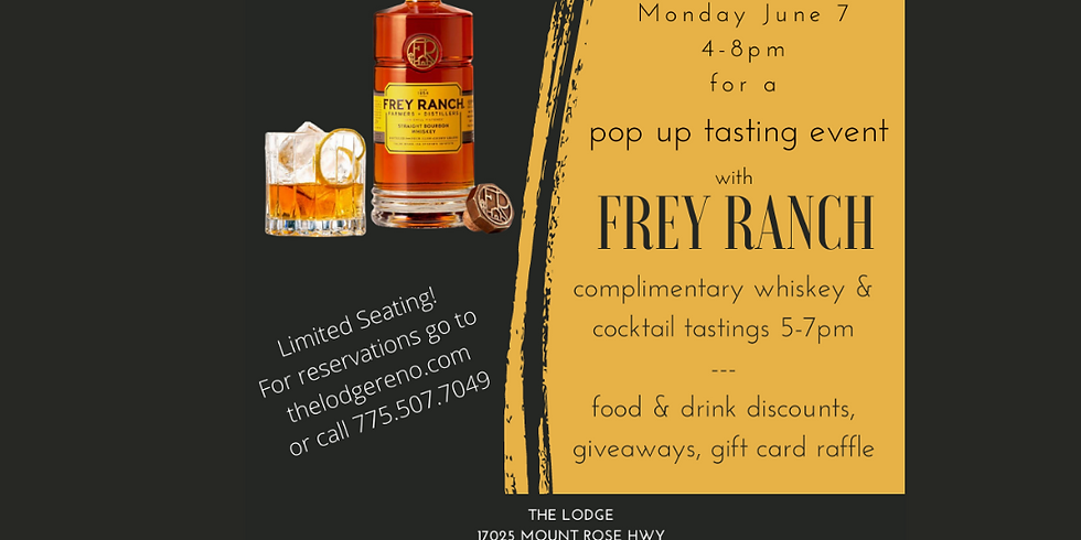 Frey Ranch Pop Up Tasting Event