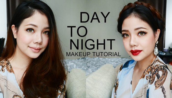 DAY TO NIGHT MAKEUP TUTORIAL