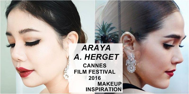 ARAYA A. HARGET MAKEUP TUTORIAL