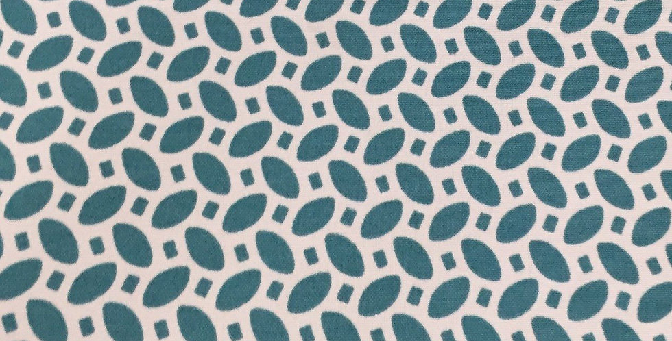 Teal Outdoor Fabric