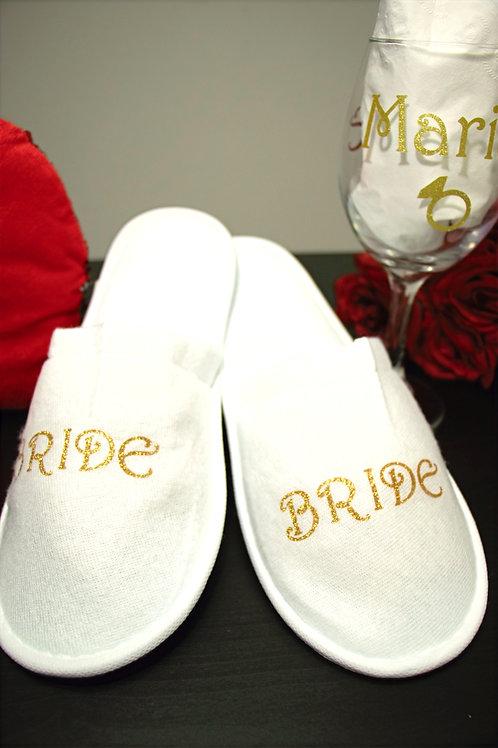 Pantuflas BRIDE - NOVIA