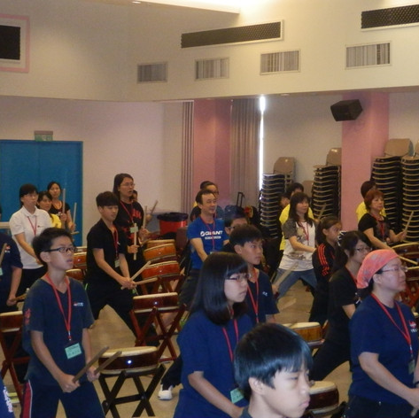 2012 Taiwan Drum Training Centre
