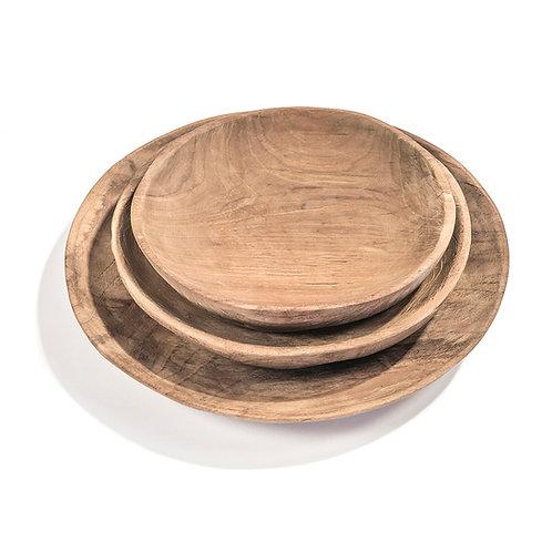 Assiette ronde Gommaire