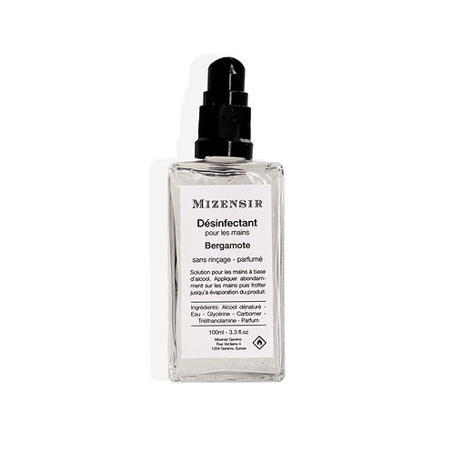 Mizensir désinfectant 100ml Bergamote