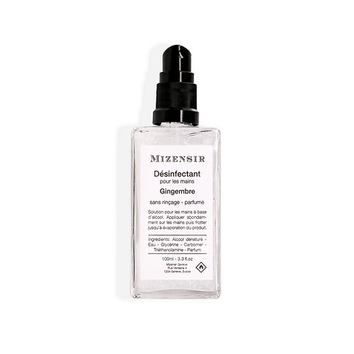 Mizensir désinfectant 100ml Gingembre